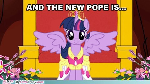 alicorn twilight twilight sparkle pope vatican - 7135520000