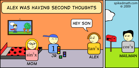 cheating comic math parents