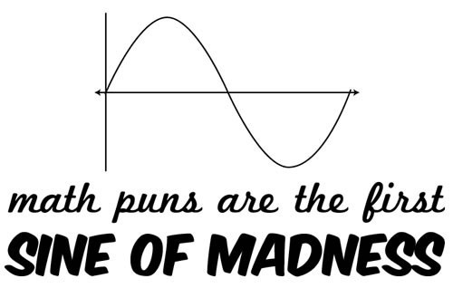 sine pun madness math