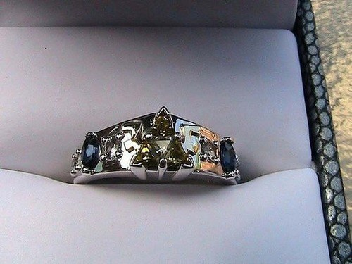 wedding rings IRL Jewelry triforce zelda legend of zelda video games - 7135699200