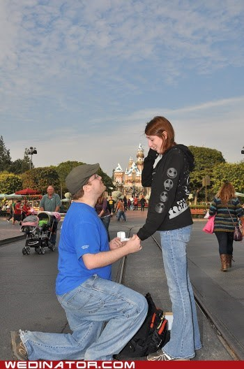 knees,proposal,disneyland