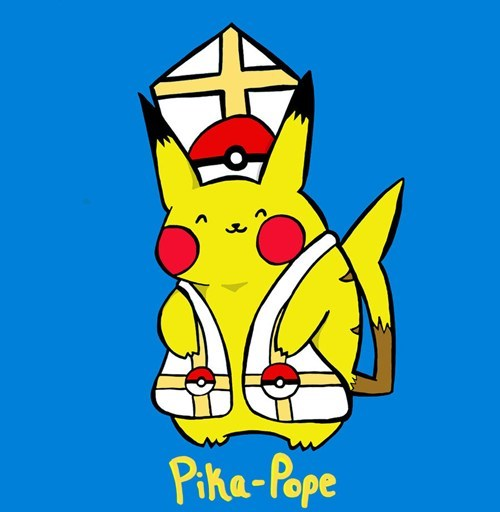 Pokémon art pope cute pikachu - 7135786496