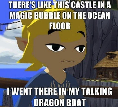 link super high guy video games zelda wind waker - 7135840768