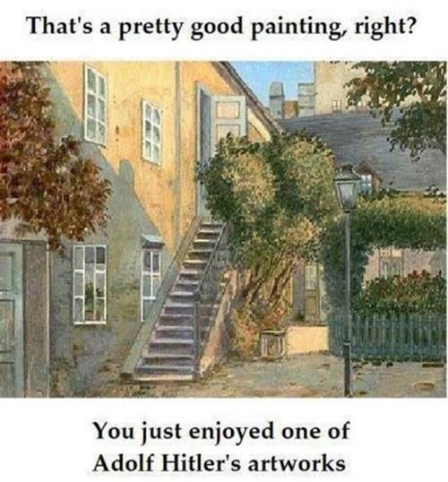 art painting hitler - 7135961088