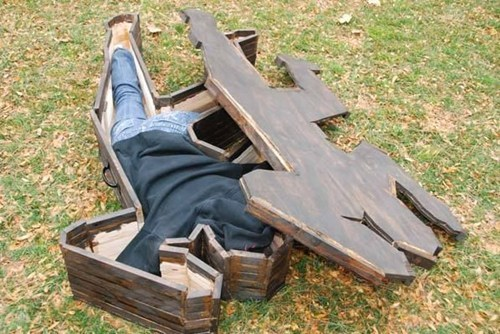 crime scene,outline,coffin,wood