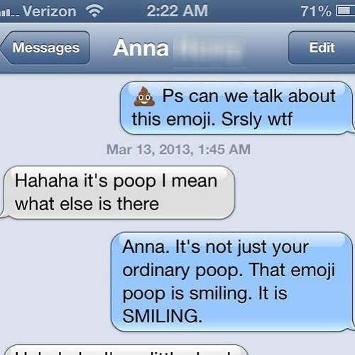 poop iPhones emojis g rated AutocoWrecks - 7135992064