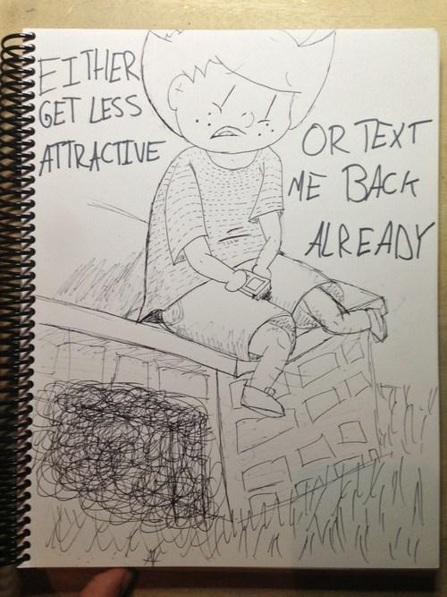text me back comics get less attractive