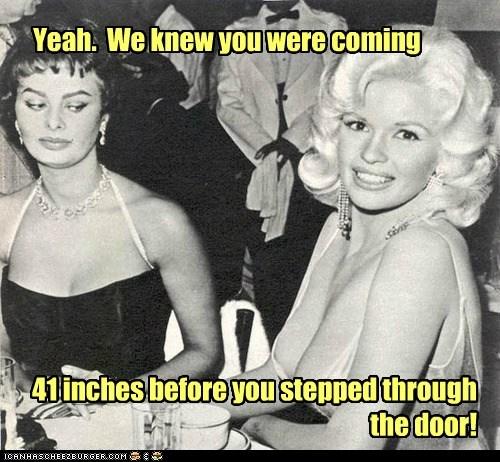 Jayne Mansfield Staring Sophia Loren bewbs - 7136012032