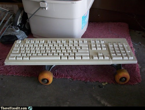 skateboard keyboard
