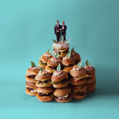 cake toppers cakes burgers - 7136024064