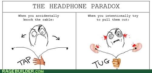 paradox earbuds headphones - 7136202752