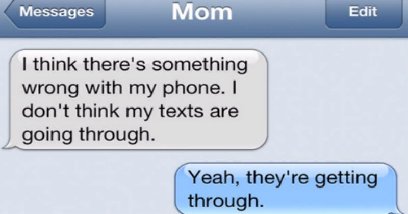 cringe clueless parenting ridiculous texting mom funny - 7136261