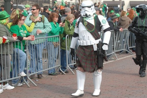 St Patrick's Day,nerdgasm,parade,stormtrooper