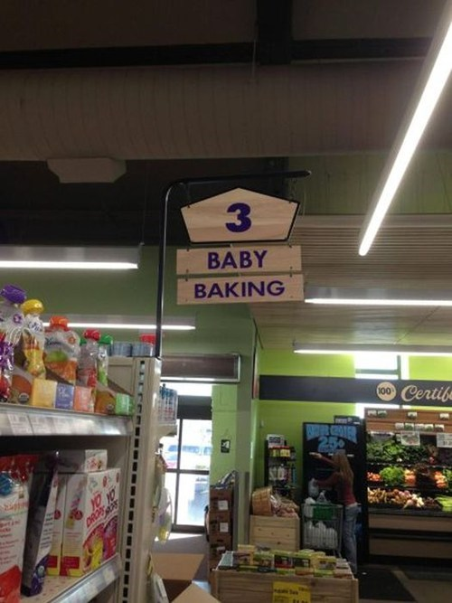 Babies sign shopping grocery store fail nation g rated - 7136346368
