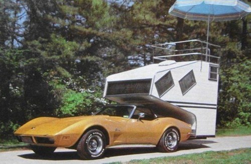 trailers retro cars camping road trip - 7136348416