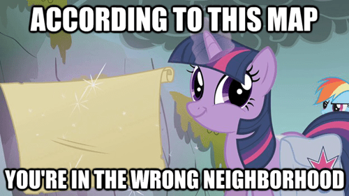 twilight sparkle you're in the wrong neighborhood - 7136747008