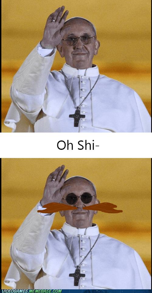 the pope,dr robotnik,eggman,sonic
