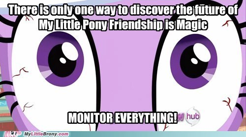 watching you creepy twilight sparkle