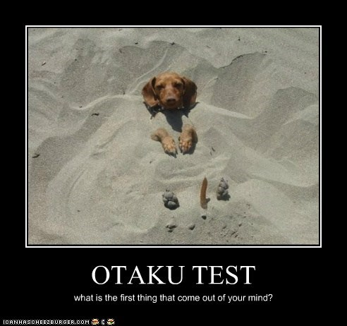 OTAKU TEST what is the first thing that come out of your mind?