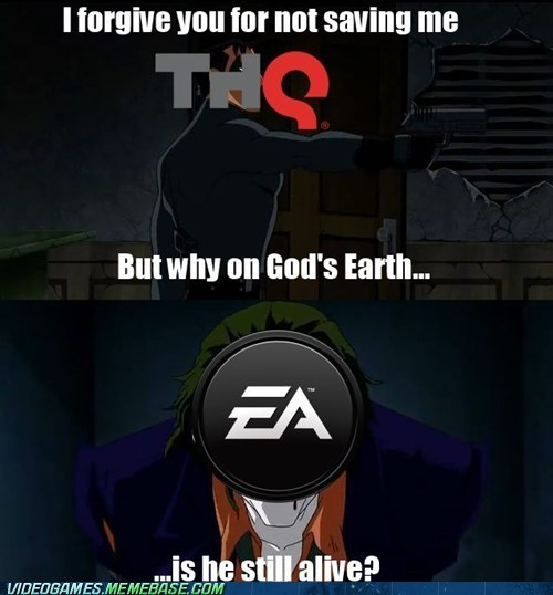 THQ,EA,batman,video games