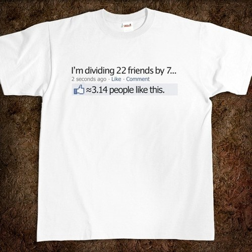 T.Shirt pi math