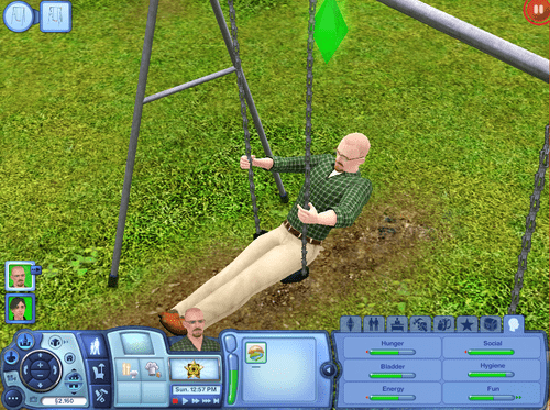 breaking bad,bryan cranston,The Sims
