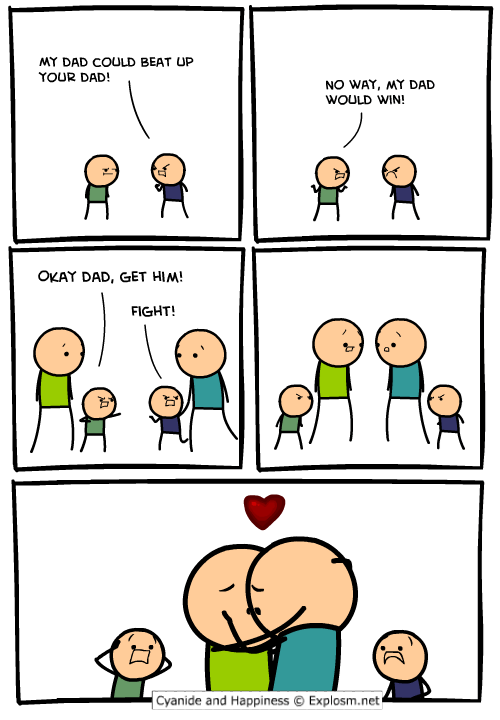 gays dads comics kissing - 7138063360