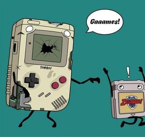 game boy,zombie,nintendo