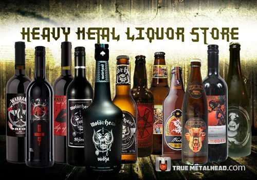 beer heavy metal liquor - 7138143744