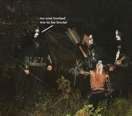 woods black metal heavy metal