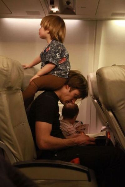 fatherson obnoxious kids airplanes g rated Parenting FAILS - 7138163968