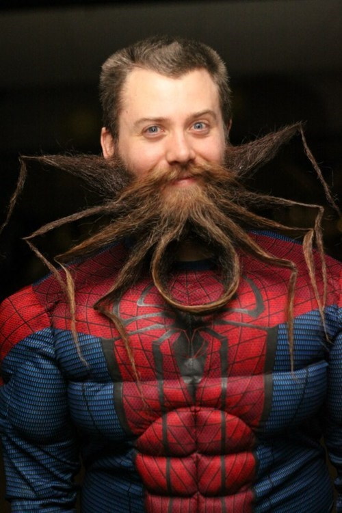 spiders facial hair costume Spider-Man poorly dressed g rated