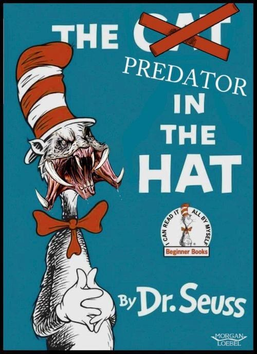 the cat in the hat,dr seuss,Predator