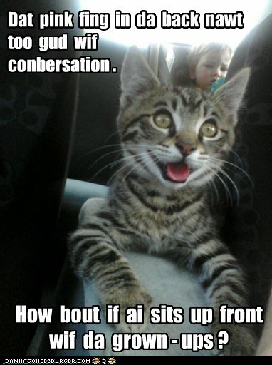 kids cars conversation Cats - 7138268160