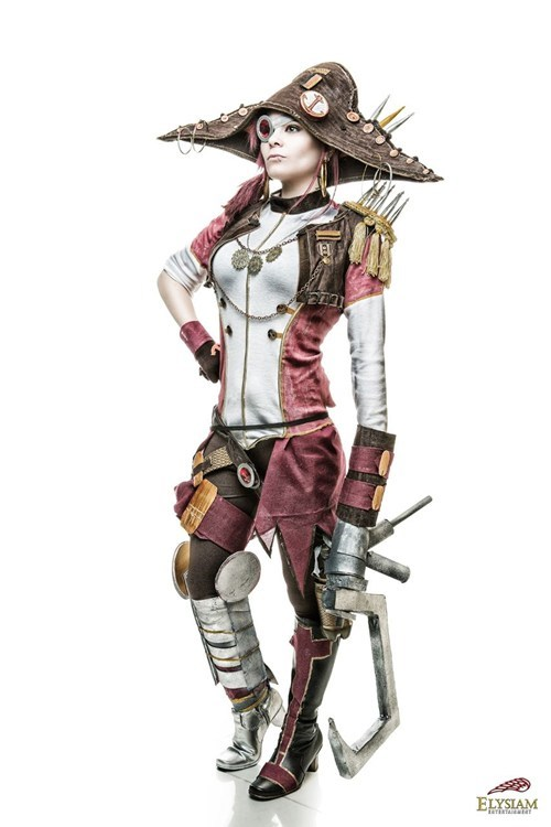 cosplay captain scarlett borderlands 2 video games - 7138312960