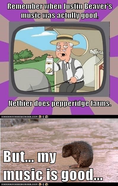 beavers pepperidge farm remembers justin bieber - 7138331136