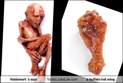 voldemort,buffalo wings,gross,totally looks like