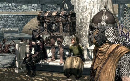 treasure chests elder scrolls video games Skyrim - 7138385920