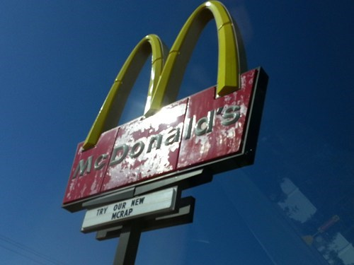 not trying McDonald's fast food - 7138446080