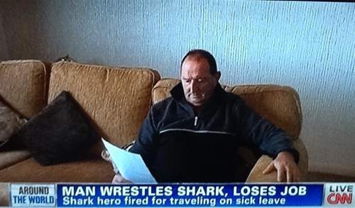 fired,lost your job,shark