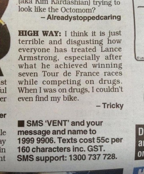sports drugs Lance Armstrong - 7138549760