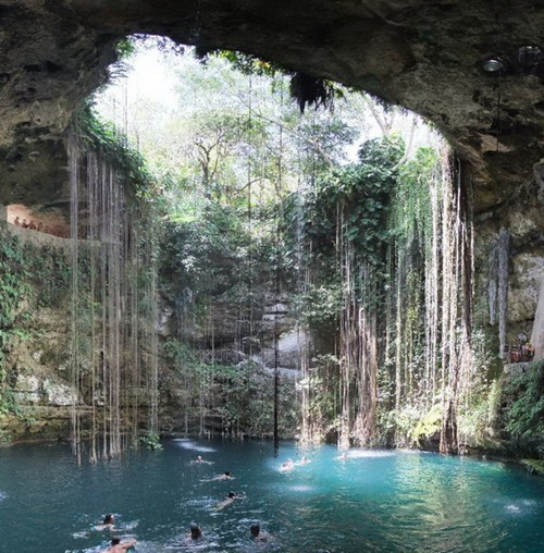 mexico cave lake destination WIN! g rated - 7138602240