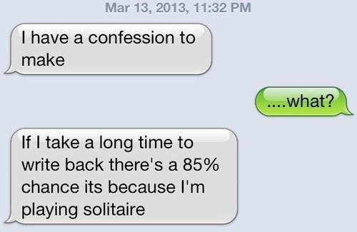 solitaire forgiven iPhones confession - 7138712576