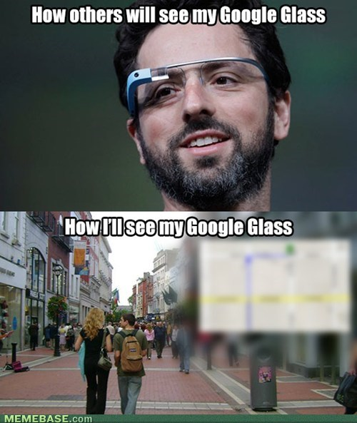 expectations vs reality Maps google glass - 7138729984