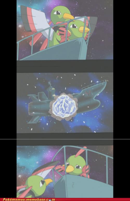 Sad titanic Pokémon anime xatu natu - 7138733568