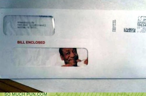 bill cosby,mail,enclosed