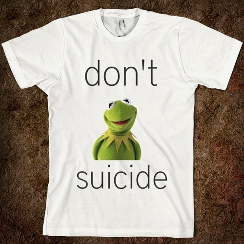kermit commit request T.Shirt similar sounding advice dont - 7138831360