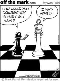 queen checkmate moved moment chess double meaning