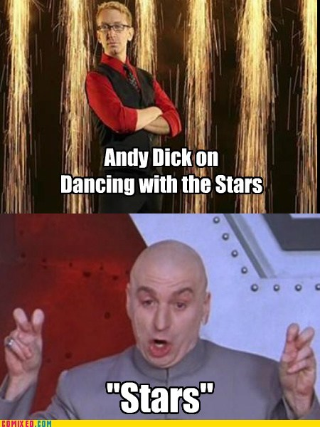 dr evil air quotes andy dick celeb - 7138877440