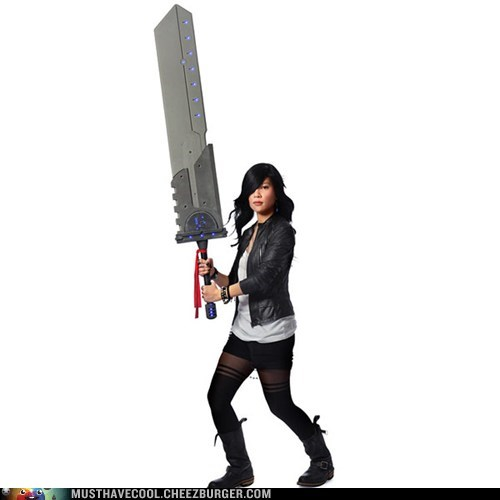 cosplay,titans,giant,sword